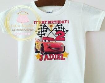 Cars birthday shirt - cars birthday theme - cars birthday cake - cars birthday party