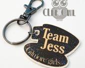 "Gilmore Girls ""Team Jess""  Keychain. Only 1 Left!"