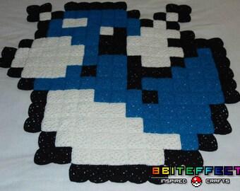 Dratini Pokemon Rug, Wall Hanging or Lap Blanket!