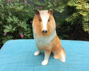 Vintage ( Lassie) Collie Dog China Figurine