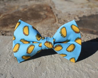 Taco Bow Tie | Bow Tie for Men | For Him | Bowtie | Dog Bow Tie | Mens Bow Tie | Boys Bow Tie | Wedding Bow Men