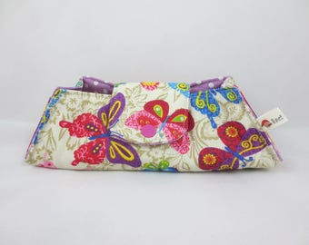 Glasses case - fabric tie