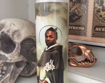 St Kendrick Lamar Prayer Candle
