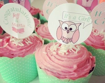 Custom design toppers & tags