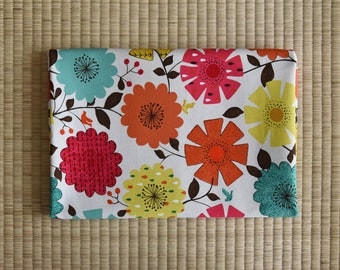 cute colorful flower Fabric 1/2 yard