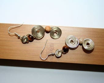 Luisa aluminum Wire Earrings