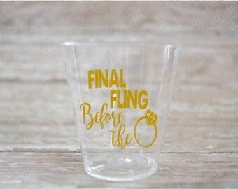 Bling Shot Glass Etsy - Vinyl decals for shot glasses