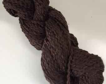Manos del Uruguay Cotton Stria/ Brown Discontinued/ 1.75 oz 50g