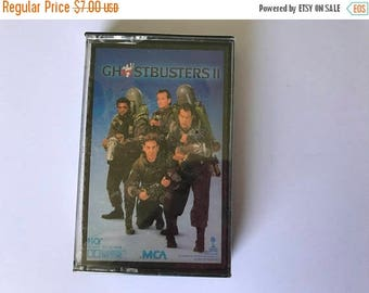 ON SALE Ghostbusters II Soundtrack Cassette