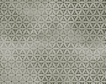 Bohemian Manor by In The Beginning Fabrics - Geo Circles Taupe - Cotton Woven Fabric