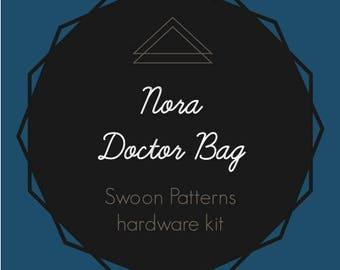 Nora - Swoon Hardware Kit - Rectangle Rings - Twist Lock - Plastic Boning