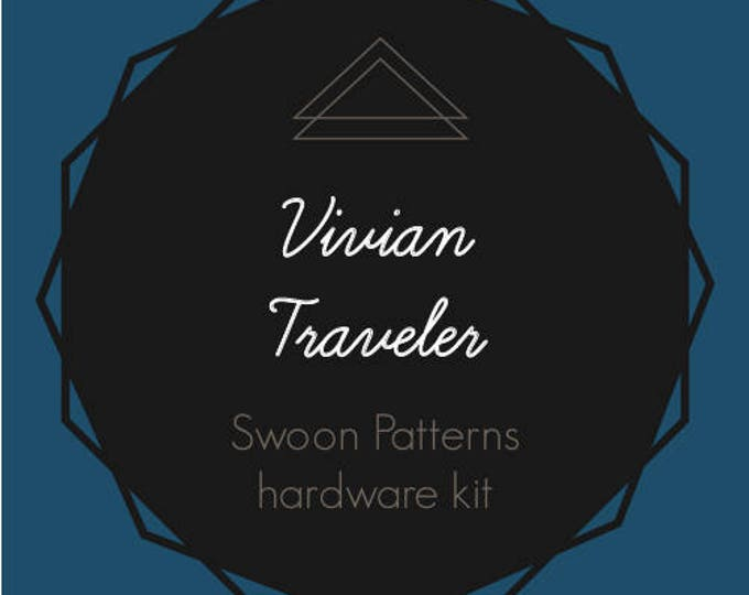 Vivian Traveler - Swoon Hardware Kit - Rectangle Rings