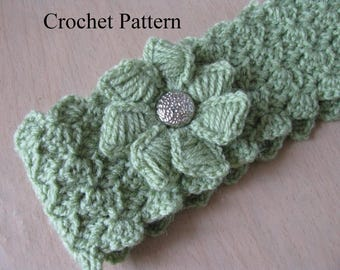 Headband Pattern, Headband Crochet Pattern, Crochet Headband Pattern, Adult Headband