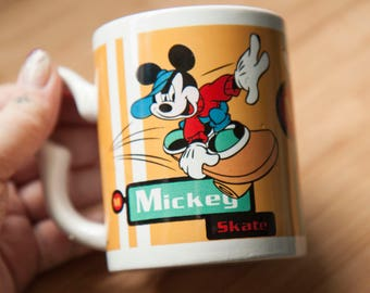 Vintage 90s Cool Mickey Mug