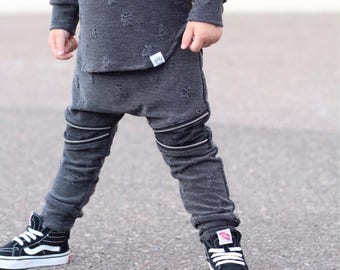 Boy clothing sets / Trendy boy clothes / Hipster baby boy clothes / Toddler harem pants / Trendy baby boy / Hipster toddler boy clothes