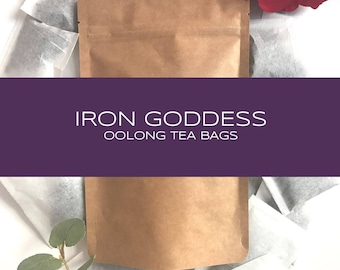 Iron Goddess Oolong Tea Bags