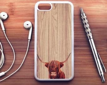 Highland Cow iPhone 8 Case Highland Cow iPhone 7 Case Highland Cow iPhone 8 Plus Case Highland Cow iPhone 7 Plus Case Cow iPhone X Case