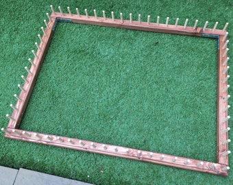 "Frame to make pom pom blankets 34x26"" outer frame size"