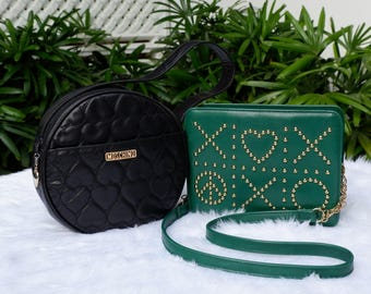 Two Authentic Vintage Moschino Bags