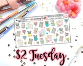 Tuesday's 2's- Planner Goodies | Planner Stickers | Perfect for any planner