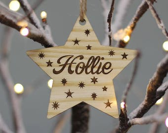 Personalised Star Gift Tags