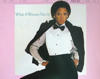 "Melba Moore - ""What a Woman Needs"" vinyl"