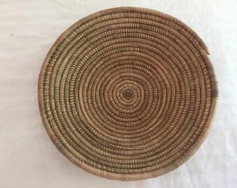 Dark Woven Basket