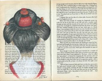 Drawing in books - Memoirs of a Geisha