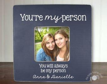 Gift for Best Friend, Best Friend Birthday Gift, Best Friend Gift, You're My Person IB2FSFRND