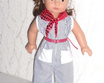 Outfit clothing compatible 45 cm Gotz doll / Kidz'n ' Cats n ' /Maru And Friends