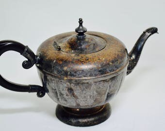 Silver Plate Viking Aladdin Teapot, Teapot, Silver Plate, Aladdin Teapot, Vintage Teapot, Tea Party, Tea For Two, Tea Service, Home Decor