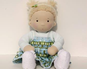 Waldorf baby doll 14''