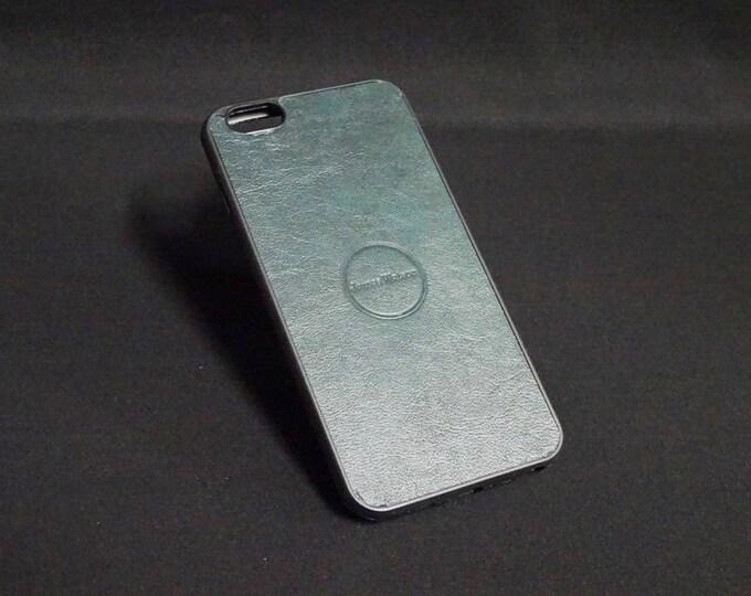 Apple iPhone 6 Plus + - Jimmy Case in Dark Green - Kangaroo leather - Handmade - James Watson