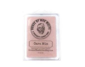 Cara Mia Scented (Sugared Vanilla Rose) Wax Melts - Soy - 3 oz