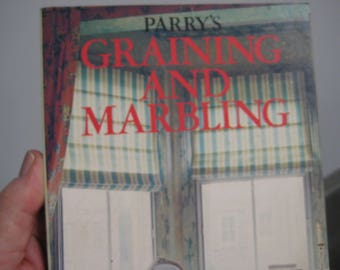 Graining and Marbling, Parry's Softcover. 1987