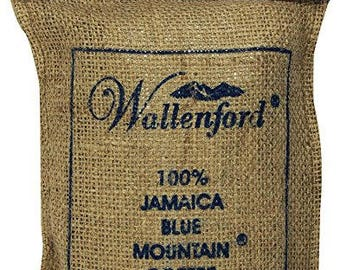 100% Wallenford Roasted Whole Bean Jamaica Blue Mountain Coffee, 16 oz
