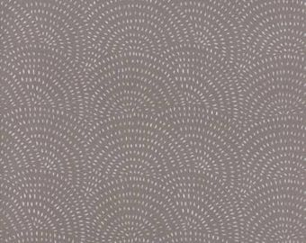 Catnip- Spinning Wheel- Grey- Gingiber- Moda Fabrics