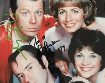 Laverne & Shirley Cast Autographed Photo