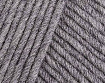 MillaMia Naturally Soft ARAN 6.75 +.95ea to Ship - Cinder 201 Gray - Soft, Squishy, Forgiving, Amazing Definition + 5 Free Patterns Shown.