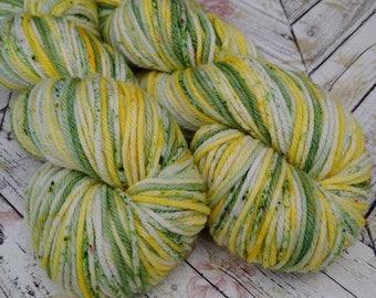 Merino Worsted Superwash , Hand Dyed Yarn 200 yd