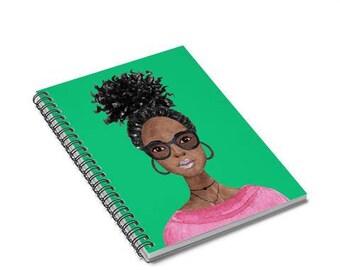 Melanin Memory Keepers - Black Girl Journals - Notebooks for Black kids- Back to school notebook - Melanin Notebook