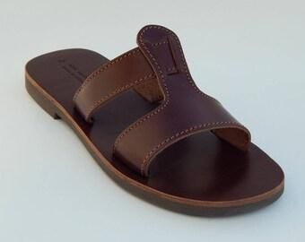 Handmade  GENUINE LEATHER Sandals  ( sizes 35-46)
