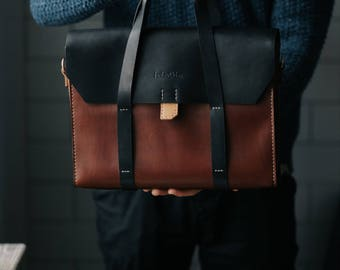 Leather Briefcase Men, Leather Messenger Bag, Men's Briefcase, Laptop Briefcase, Messenger Bag, Laptop Bag, Women bag
