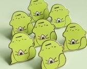 Blob Frog Pin