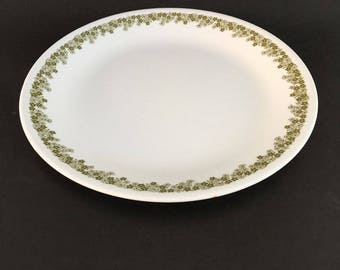 """Vintage  Crazy Daisy Spring Blossom Corelle Pyrex Dinner plate 10.25"""" D Replacement!"""