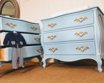 French provincial matching Dressers / changing table / chest / nursery decor