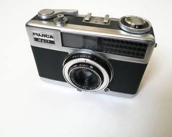Fujica Half with New Light Seals. Vintage 1960s Ready-To-Use Compact Half-Frame Zone Focus Camera