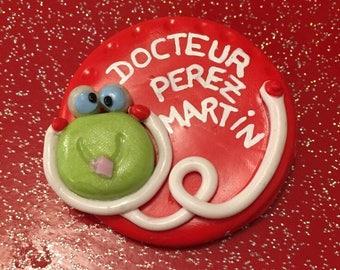 Badge (nurse, caregiver, ASH, doctor or another option)