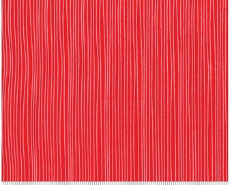 Holiday Stripe - Red Dot Green Dash by Me and My Sister Designs for Moda Fabrics - Red - 22302 11