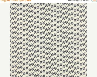 ON SALE Floral Geometric Triangles Black Natural - NOMAD Arrowheads Bone Onyx - by Urban Chiks for Moda Fabrics - 31106 11